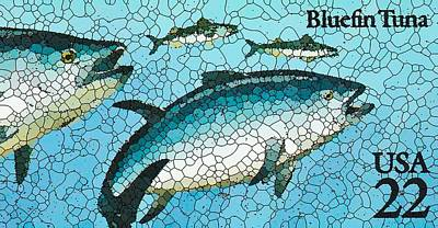 Bluefin Tuna Poster by Lanjee Chee