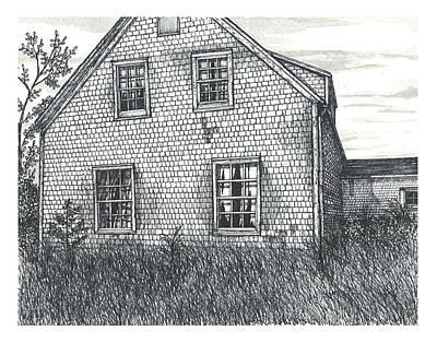 Blues Mills Farm House  Poster