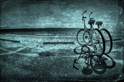 Bluescape Poster by Evelina Kremsdorf