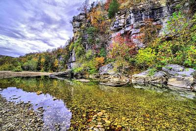 Bluffs Of The Buffalo River Poster by JC Findley
