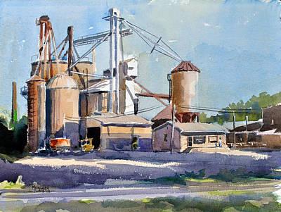 Bluford Grain Co. Poster