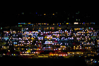 Blurred City Lights  Poster by Jingjits Photography