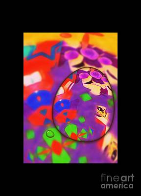 Blurred Eyes Poster by Marie Ward-Alonge
