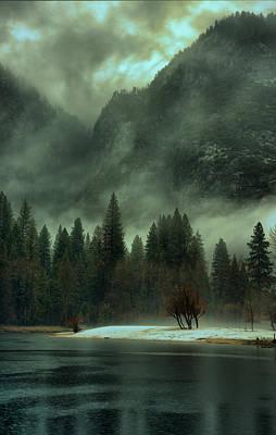 Blustery Yosemite Poster
