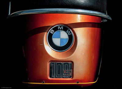 Poster featuring the photograph Bmw 100 S by Britt Runyon