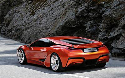 Bmw M1 Homage Concept 5 Wide Poster