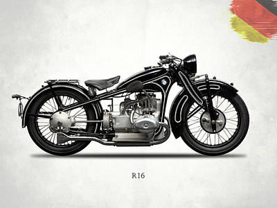 Bmw R16 1930 Poster by Mark Rogan