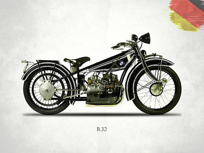 Bmw R32 1923 Poster by Mark Rogan