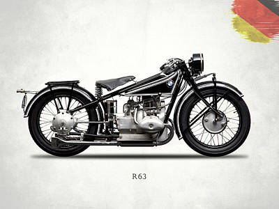 Bmw R63 1929 Poster by Mark Rogan
