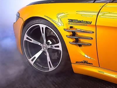 Bmw Sports Car Poster