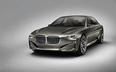 Bmw Vision Future Luxury 2014 Wide Poster