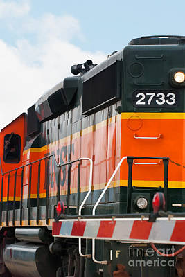 Bnsf 2733 Poster