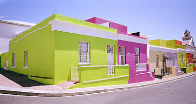 Bo Kaap Color Poster by Shaun Higson