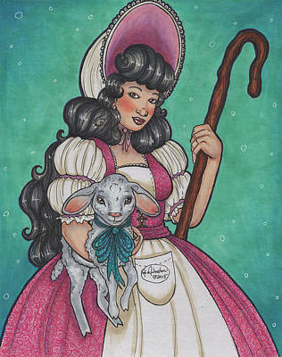 Bo Peep Poster by Kylie Johnston