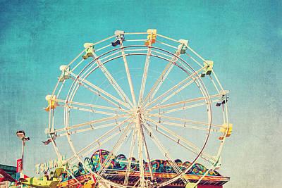 Boardwalk Ferris Wheel Poster