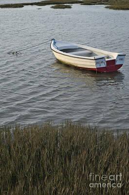 Boat In Ria Formosa - Faro Poster