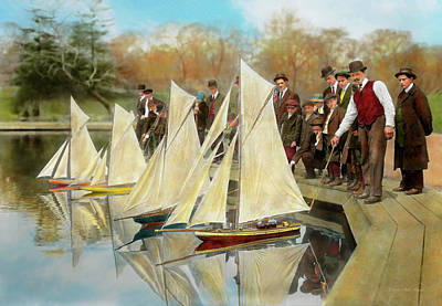 Boat - Sorry Kids This Ones Mine 1910 Poster by Mike Savad