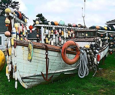 Boat Yard Poster