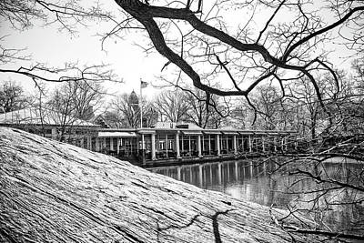 Boathouse Central Park Poster