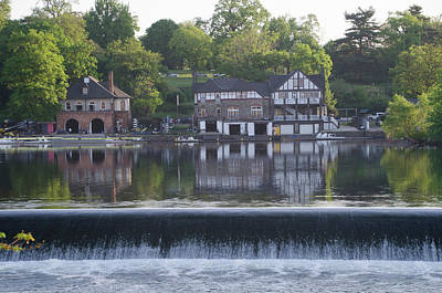 Boathouse Row In May Poster by Bill Cannon