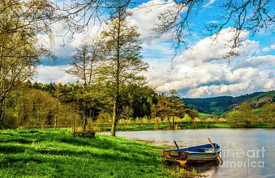 Boating On Golden Pond 254  Poster