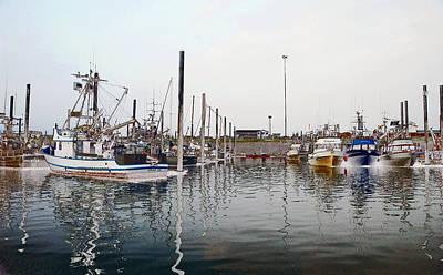 Boats In Alaska Poster
