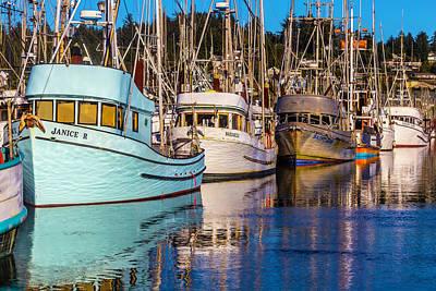 Boats Newport Harbor Poster