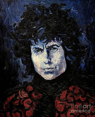 Bob Dylan 1967 Poster by Lutz Baar