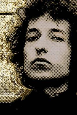 Bob Dylan 2 Vertical Poster
