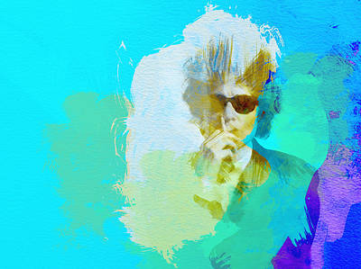Bob Dylan Poster by Naxart Studio