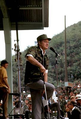 Bob Hope As An Army Man Poster
