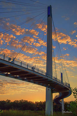 Bob Kerry Bridge At Sunrise Poster