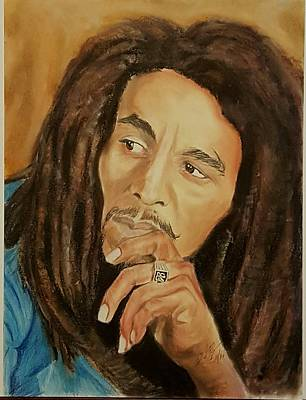 Bob Marley Legend Poster by David Peninger