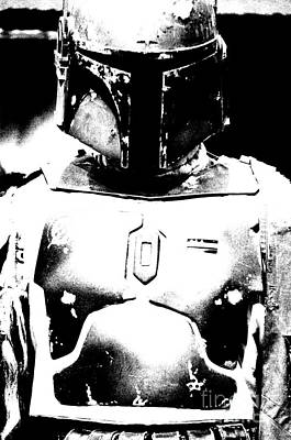 Boba Fett Costume 35 Poster by Micah May