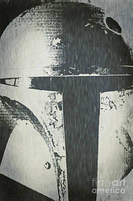 Boba Fett Helmet 25 Poster by Micah May