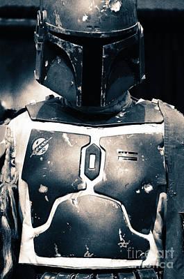 Boba Fett Helmet 32 Poster by Micah May