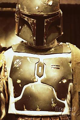 Boba Fett Helmet 34 Poster by Micah May