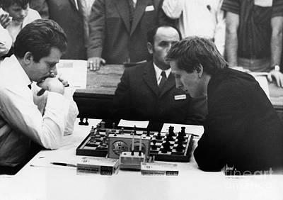 Bobby Fischer (1943-2008) Poster by Granger