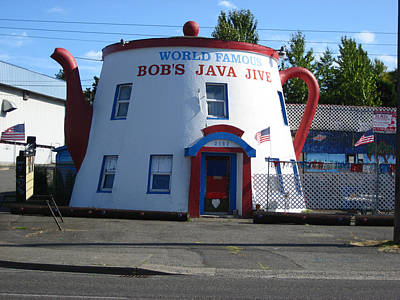 Bob's Java Jive Coffee Pot Poster