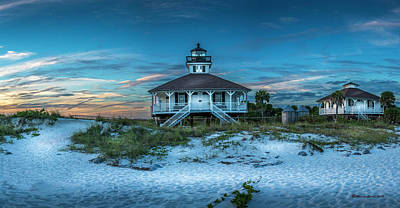 Boca Grande Lighthouse Poster by Marvin Spates