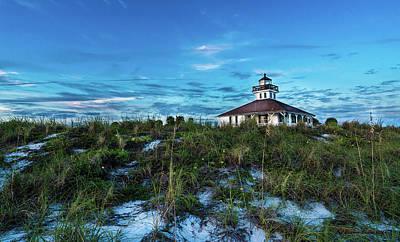 Boca Lighthouse Poster