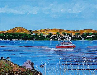 Bodega Bay From Campbell Cove Poster by Mike Caitham