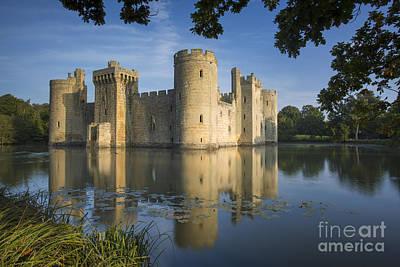 Bodiam Castle Morning Poster