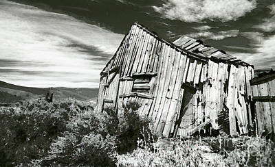 Bodie Barn Poster by Norman  Andrus