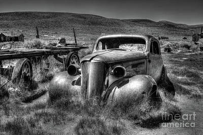 Bodie Ghost Town Poster by Martin Williams
