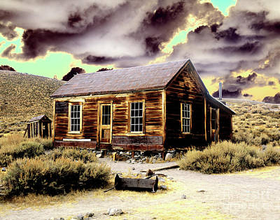Poster featuring the photograph Bodie House by Jim and Emily Bush