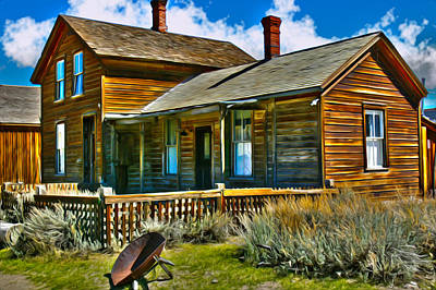 Bodie House Stylized Poster