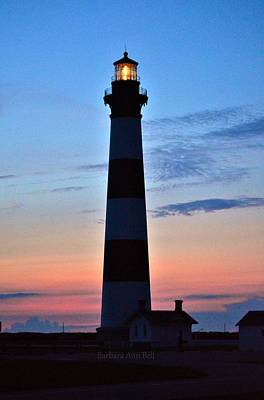 Bodie Lighthouse 7/18/16 Poster