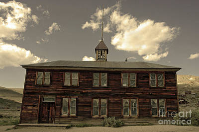 Bodie School House Poster by Nick Boren