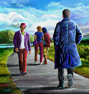 Bodyguard Poster by Anthony Mwangi